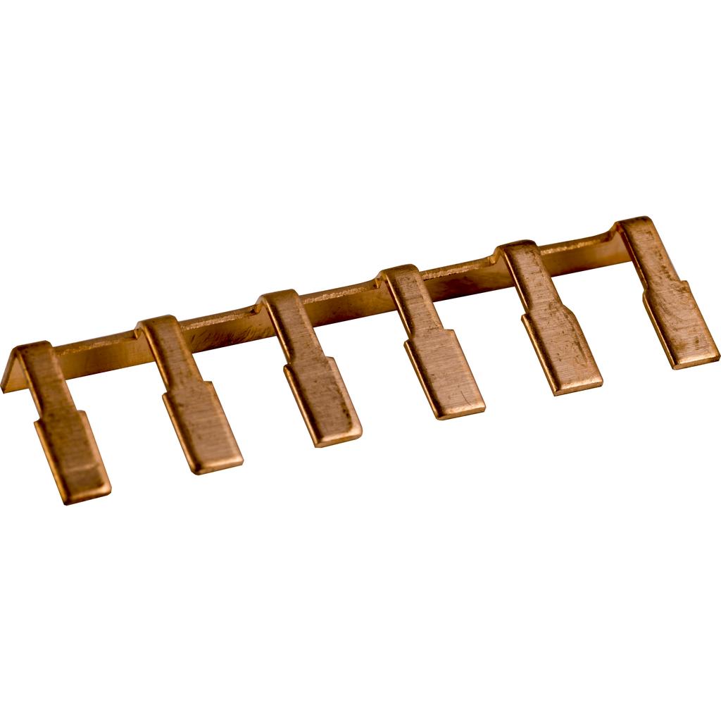Linergy terminal block, jumper, 6 pole, for 9080GK6 or 9080GR6 terminal blocks