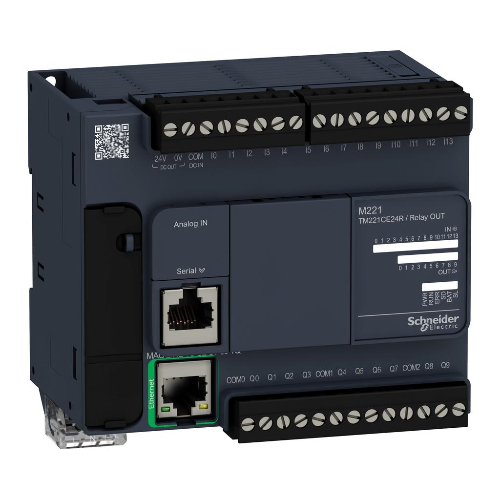 Controller M221 24 IO relay Ethernet