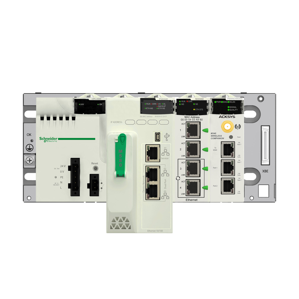 Backplane expander M340 - for multiracks configuration