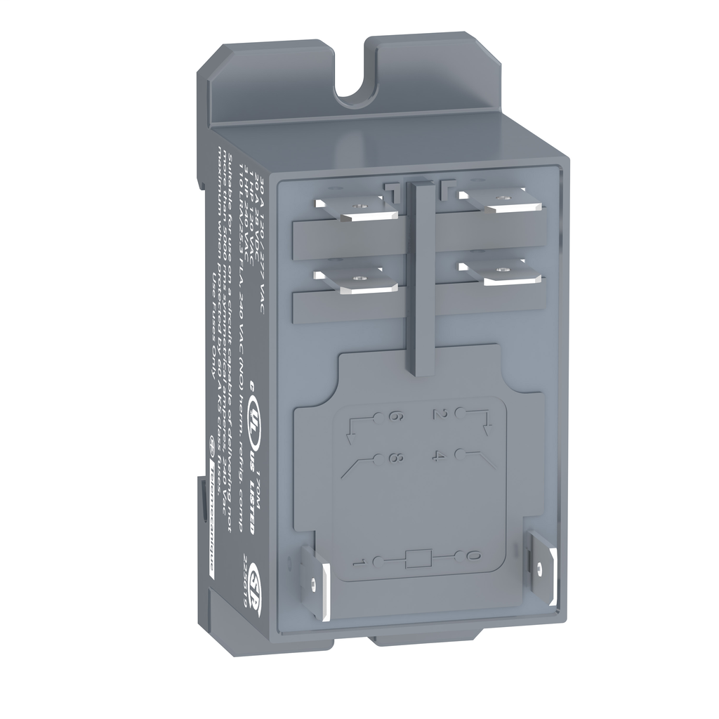 Power relay plug-in - Zelio RPF - 2 NO - 230 V AC - 30 A