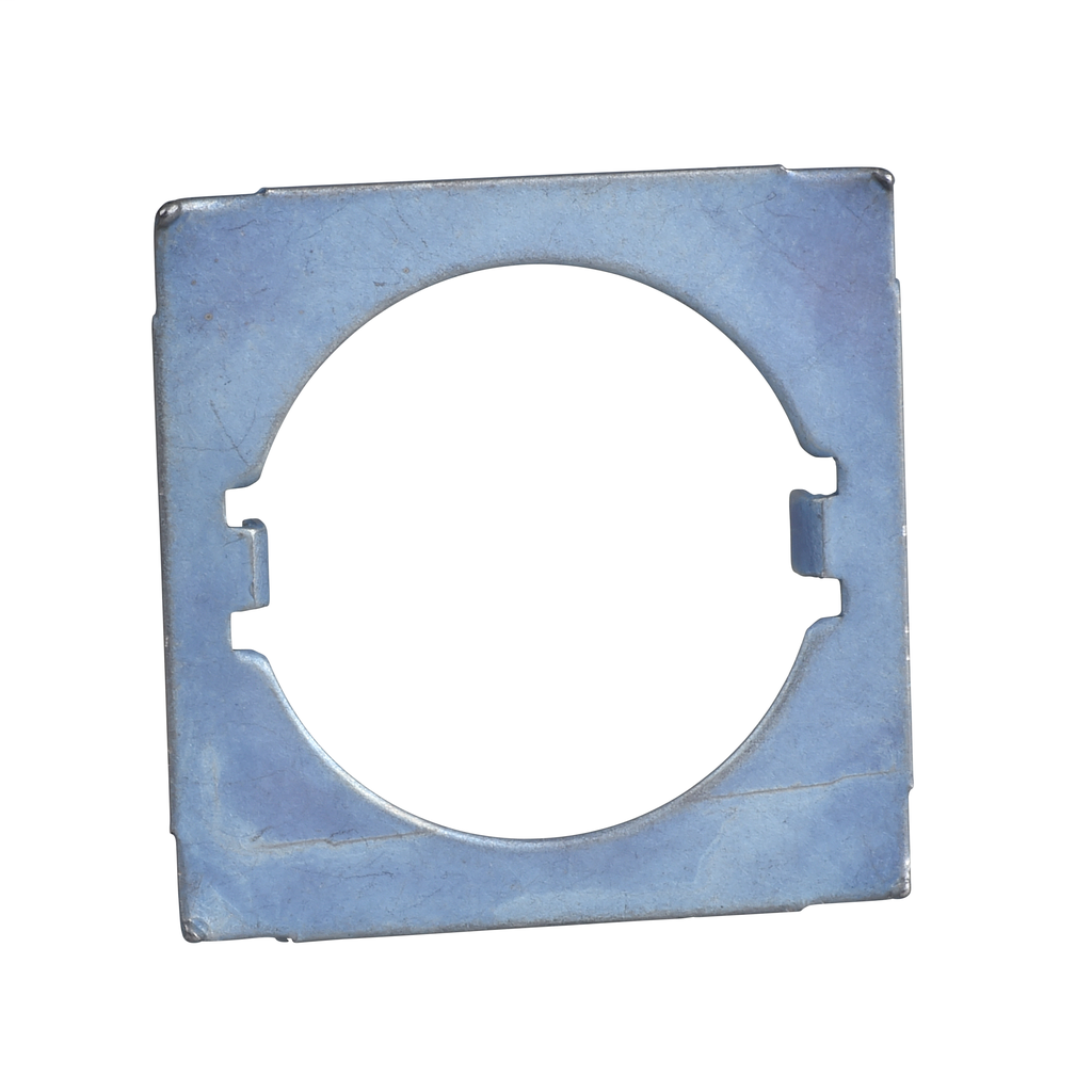 Anti-rotation plate for Ø22 head