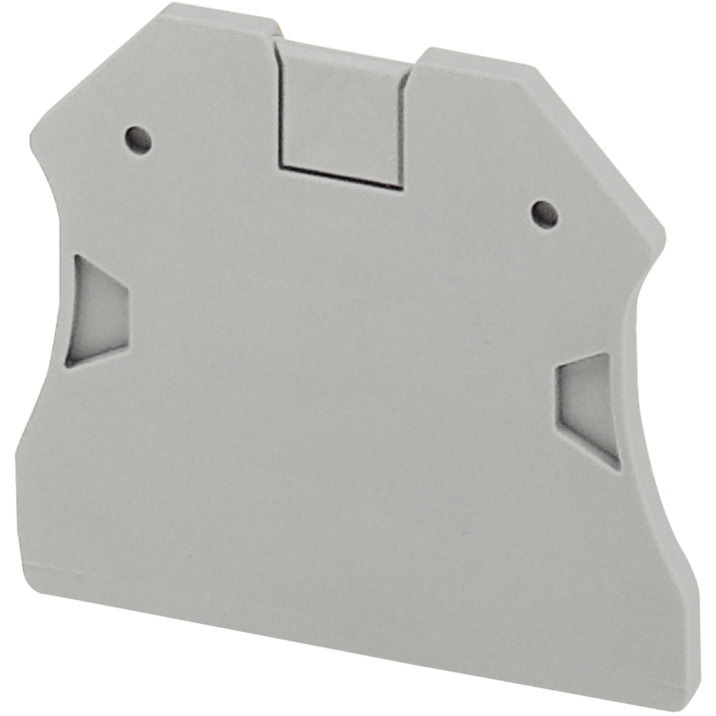 Linergy terminal blocks, end cover, for NSYTRV22, NSYTRV42 and NSYTRV terminal blocks, 2.2 mm wide, grey
