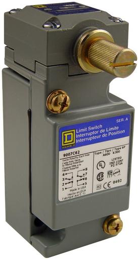 SQD 9007C62A LIMIT SWITCH 600V