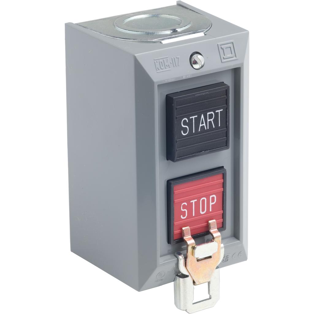 CONTROL STATION 600VAC 5A T-B START-STOP