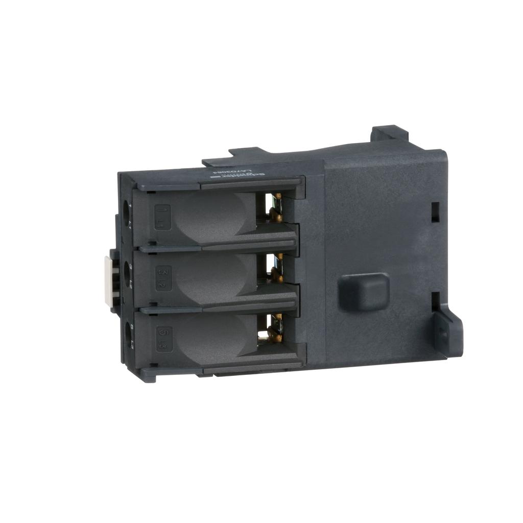 TeSys LRD thermal overload relay, terminal block adaptor