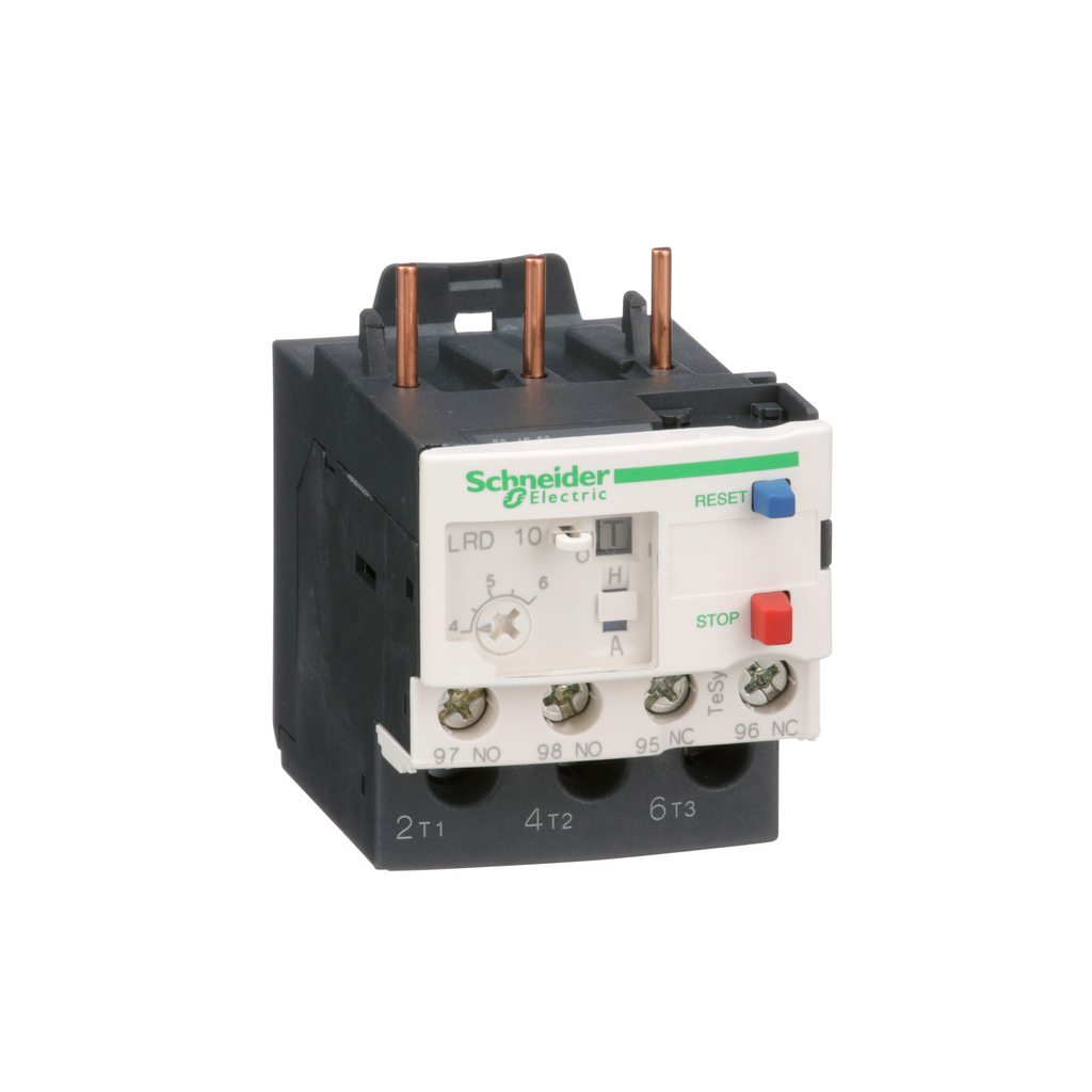 TeSys LRD, thermal overload relay, 4 to 6 A, class 10A