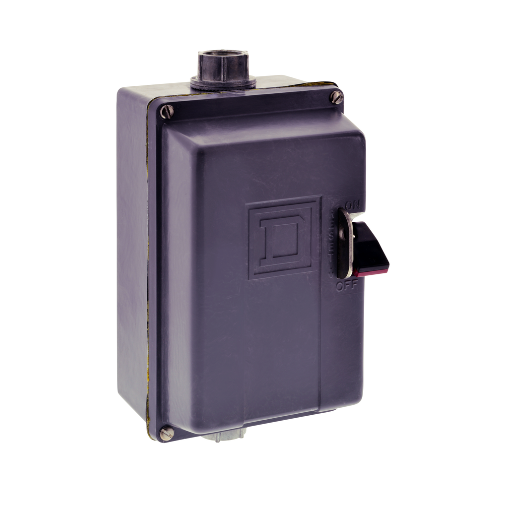 Manual Starter - NEMA 4 Polyester - 2P - Size M0 - No Indicator - 600VAC