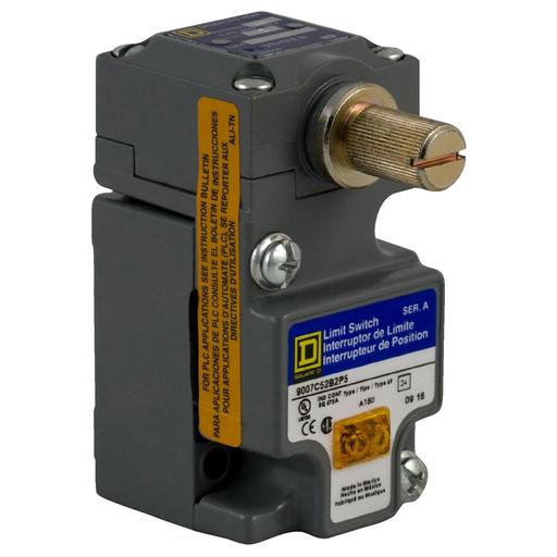 SQD 9007C52B2 10A 600V LIMIT SWITCH C OPTIONS