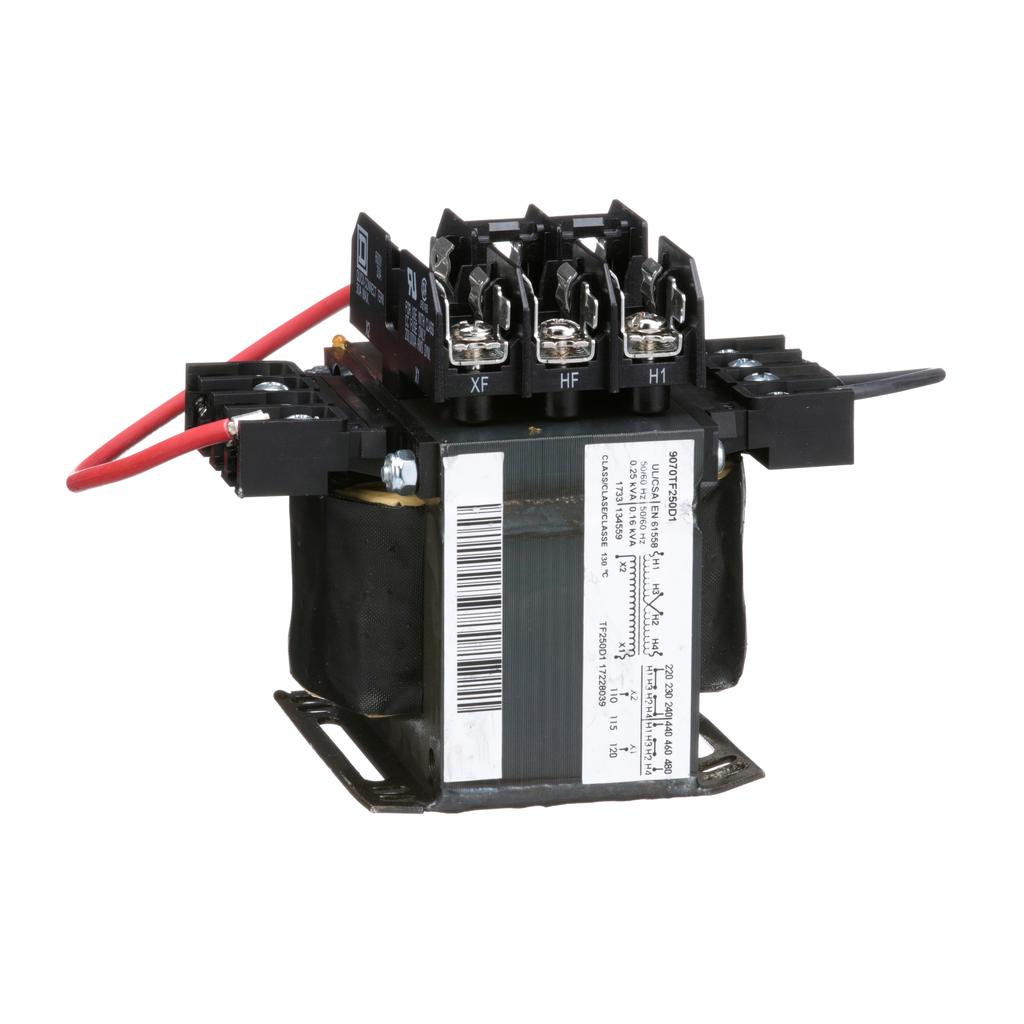 TRANSFORMER CONTROL 250VA 240/480V-120V