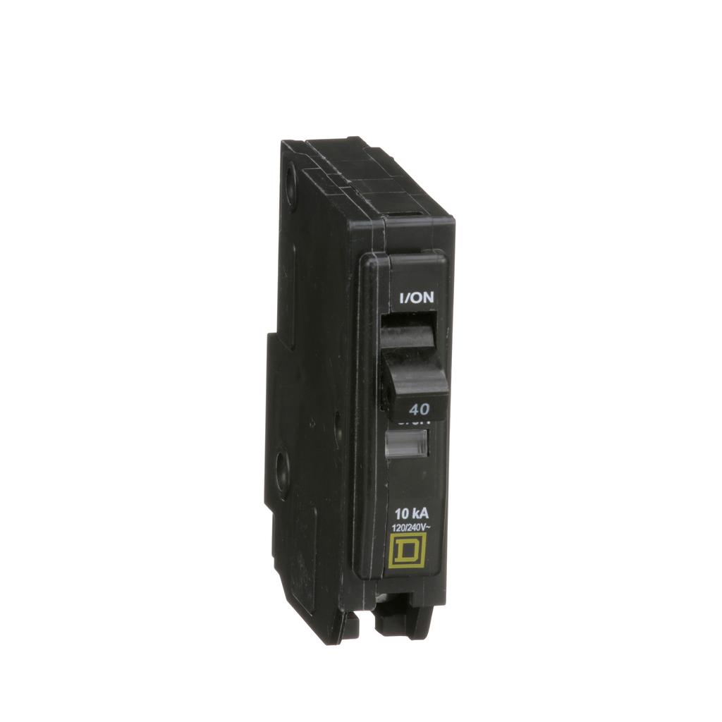 Mini CB, QO, 40 A, 1P, 120/240 V, 10 kA, Plug in