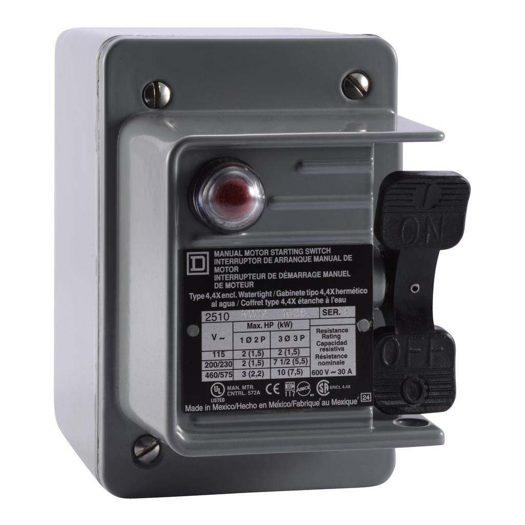 Manual Switch - NEMA 4 - 3P - Toggle Operated - No Indicator - 600VAC