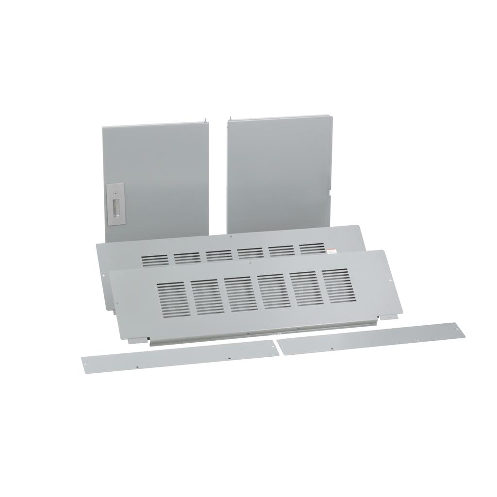 Trim, I-Line PNLBRD, hcp, surface, 4 pcs, w/door, 42x50 in