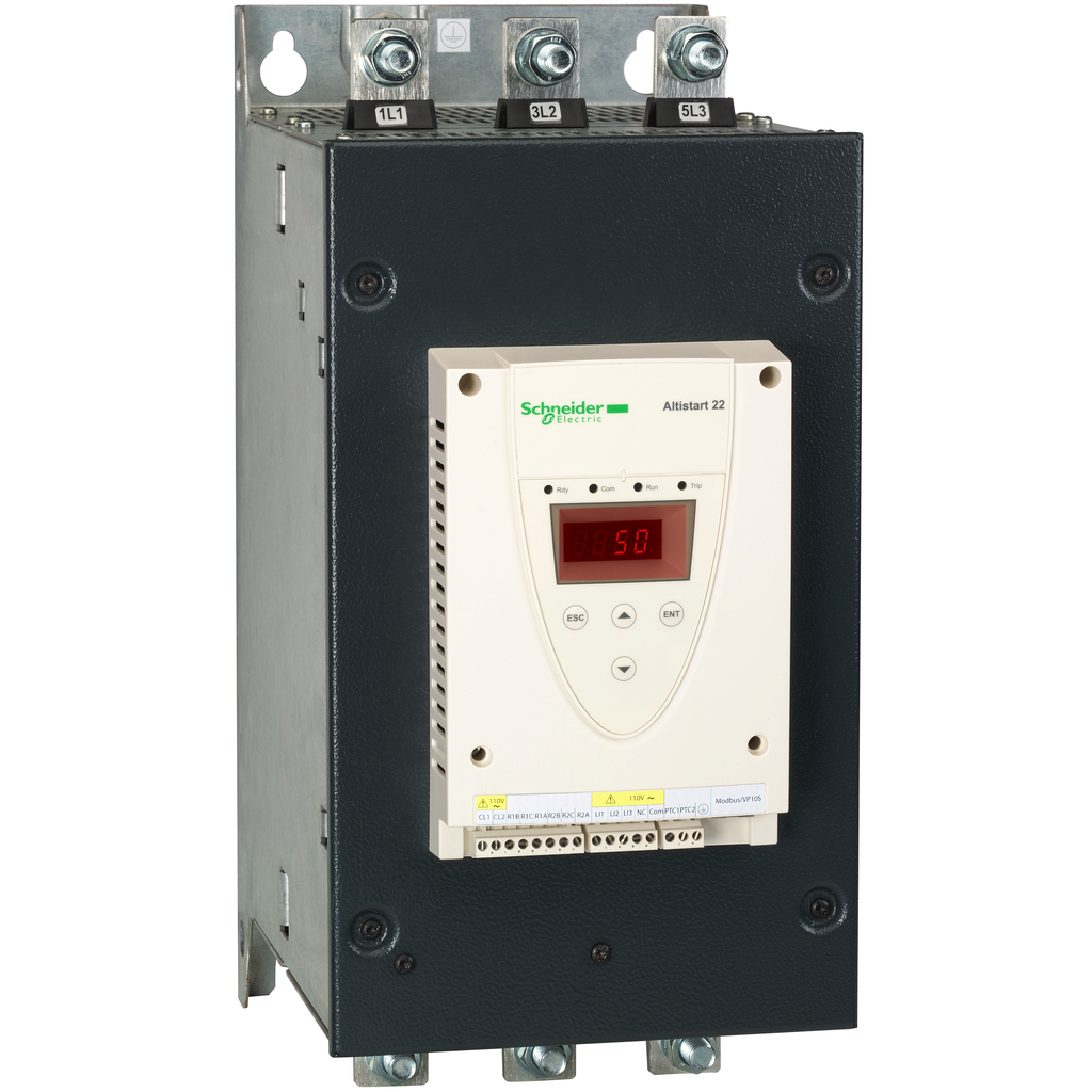 ATS22 - control 110 V - power 208 V (75hp)