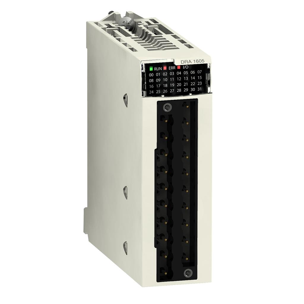 Discrete output module X80 - 16 outputs - relay - 24 V DC or 24...240 V AC