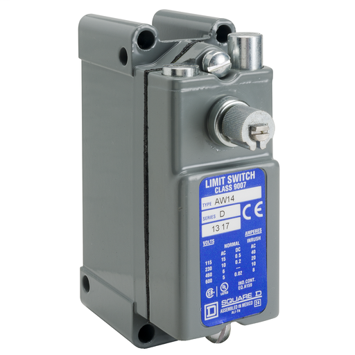 SQD 9007AW14 LIMIT SWITCH 600VAC