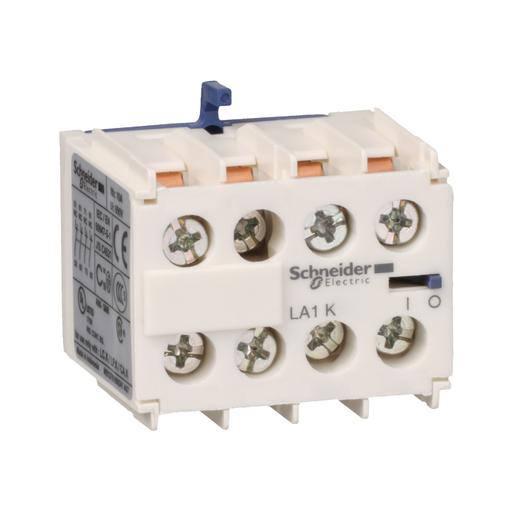 SQD LA1KN04 CONTACTOR+RELAY AUX 10AMP IEC