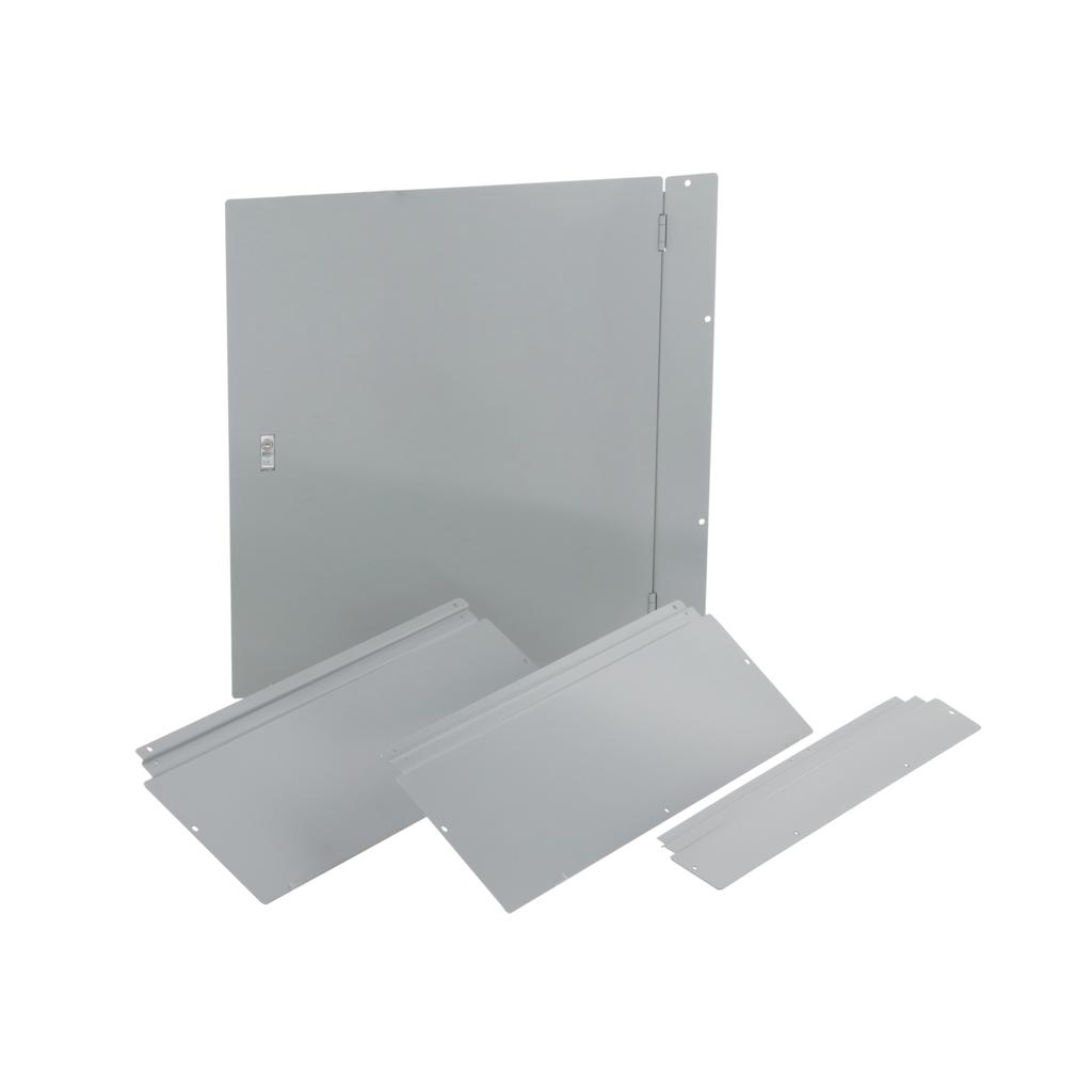 Trim, I-Line PNLBRD, hcm, surface, 4 pcs, w/door, 32x48x8.25 in
