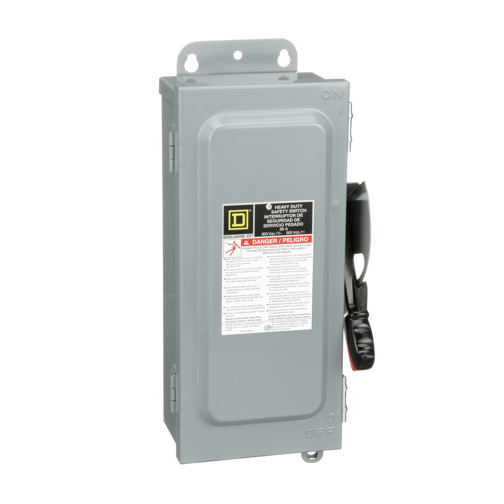 HEAVY DUTY SAFETY SWITCH - 30A - 3P