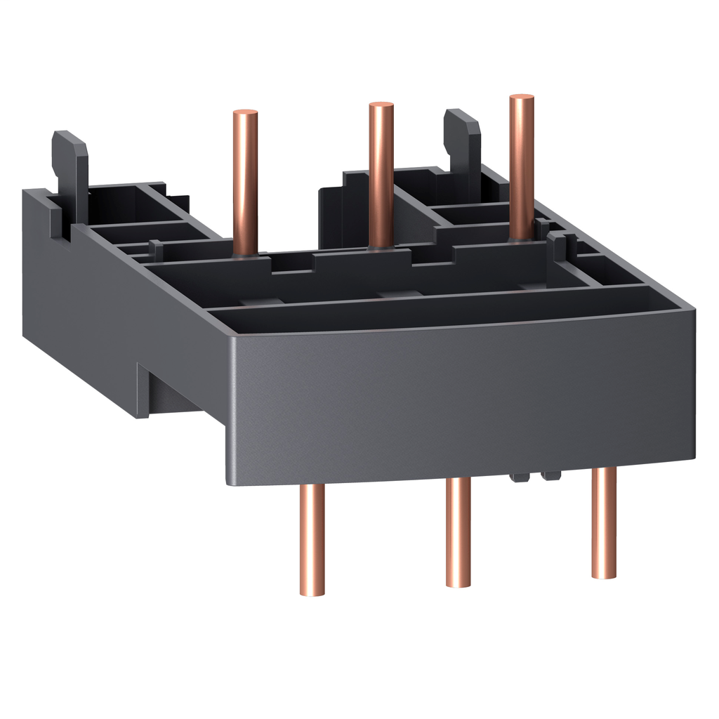 TeSys GV2, interconnection block, to connect GV2 and LC1D09 to D38 contactor