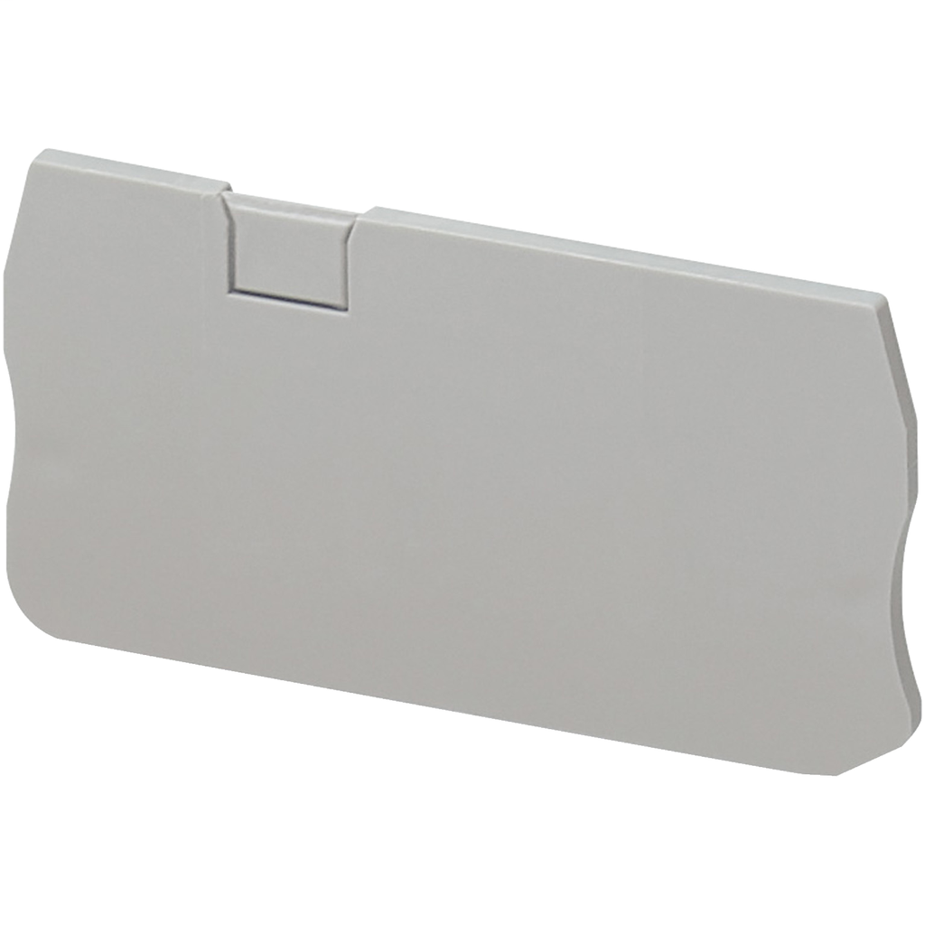 END COVER, 3PTS, 2,2MM WIDTH, FOR SPRING TERMINALS NSYTRR23, NSYTRR22