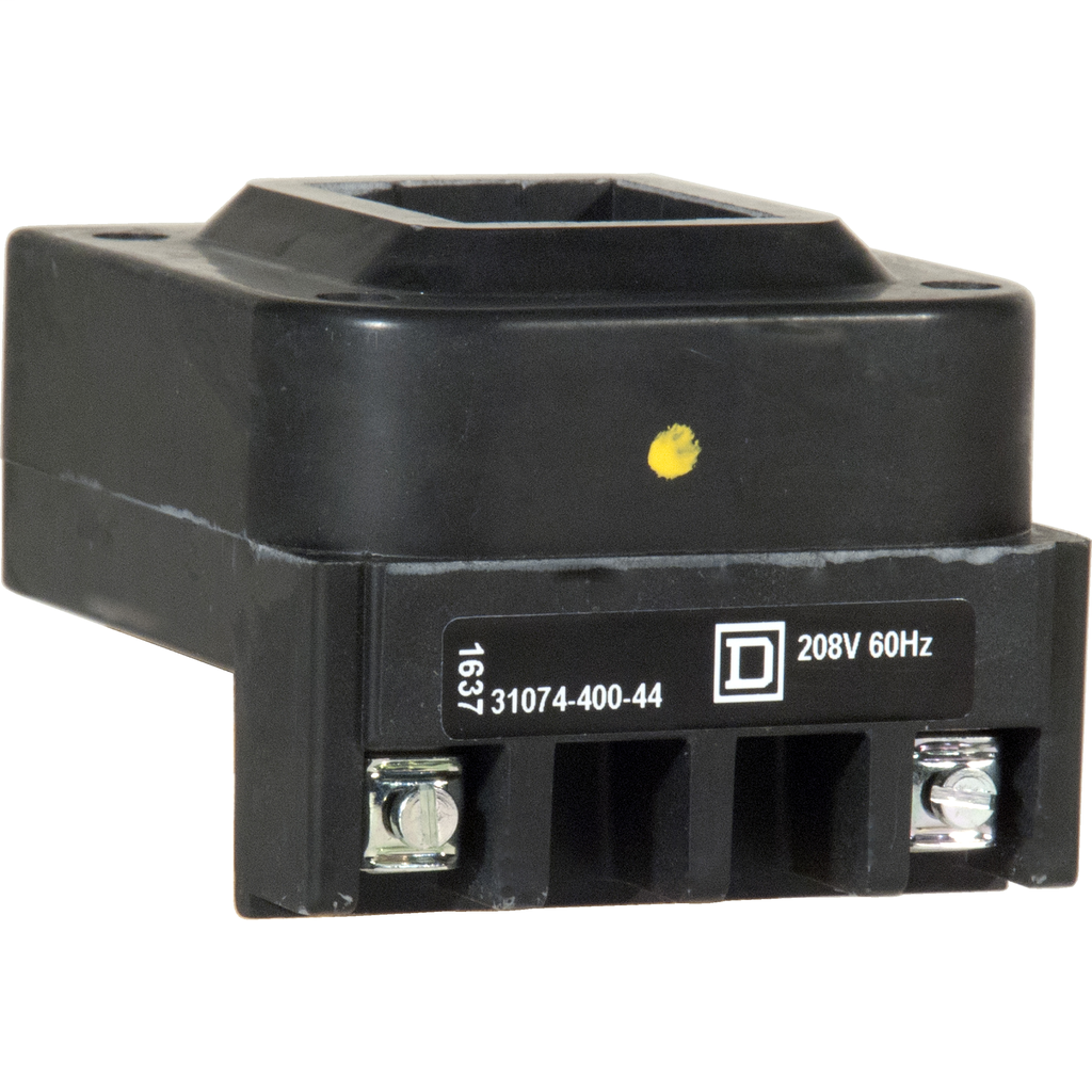 Replacement coil, 208VAC 60Hz, 2-3 pole, NEMA size 3 and 100 Amp contactor