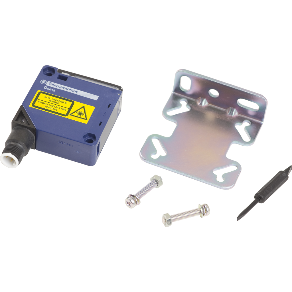 Photo-electric laser sensor - XUK - BGS - Sn 1m - 12..24VDC - M12