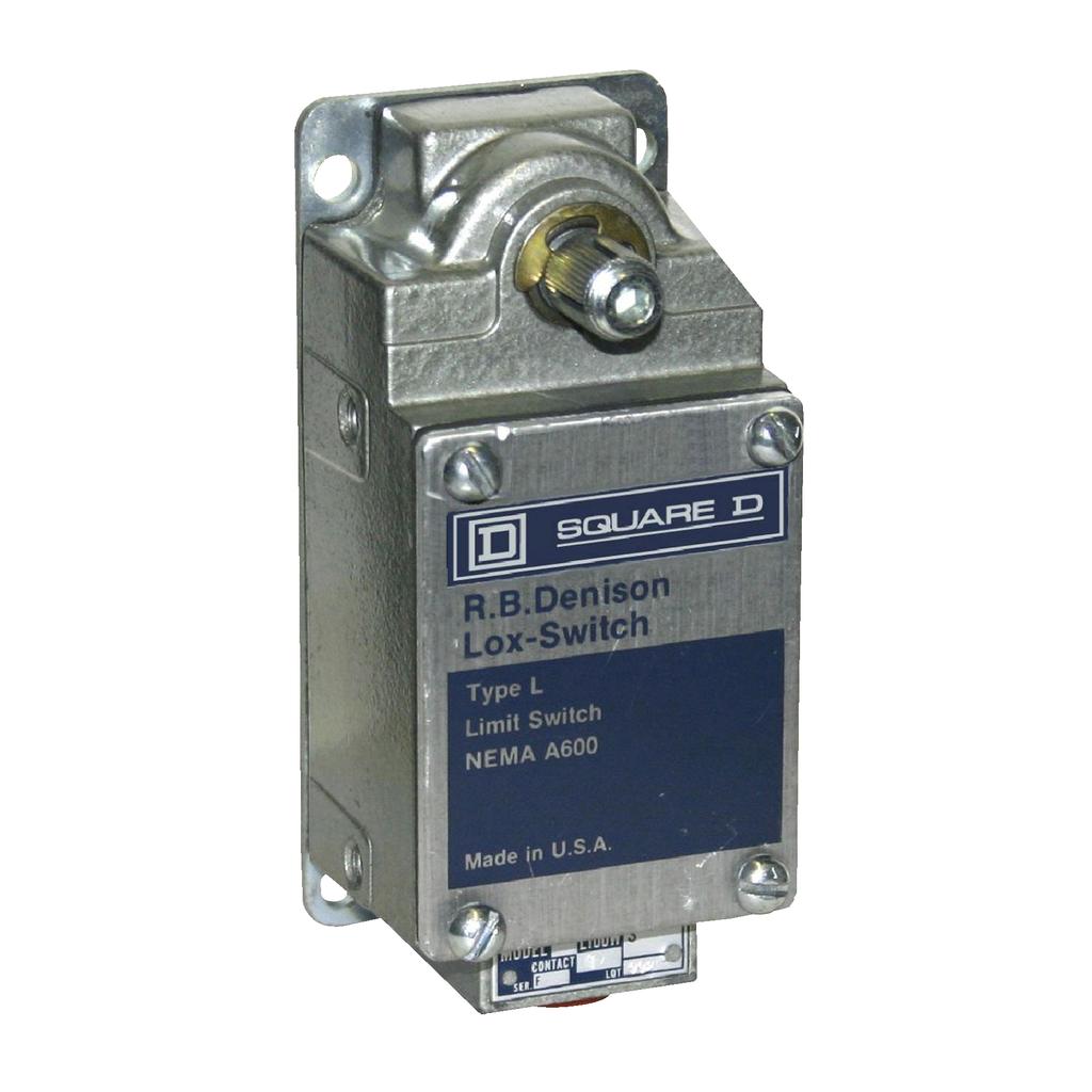 LIMIT SWITCH 600V 10AMP TYPE L +OPTIONS