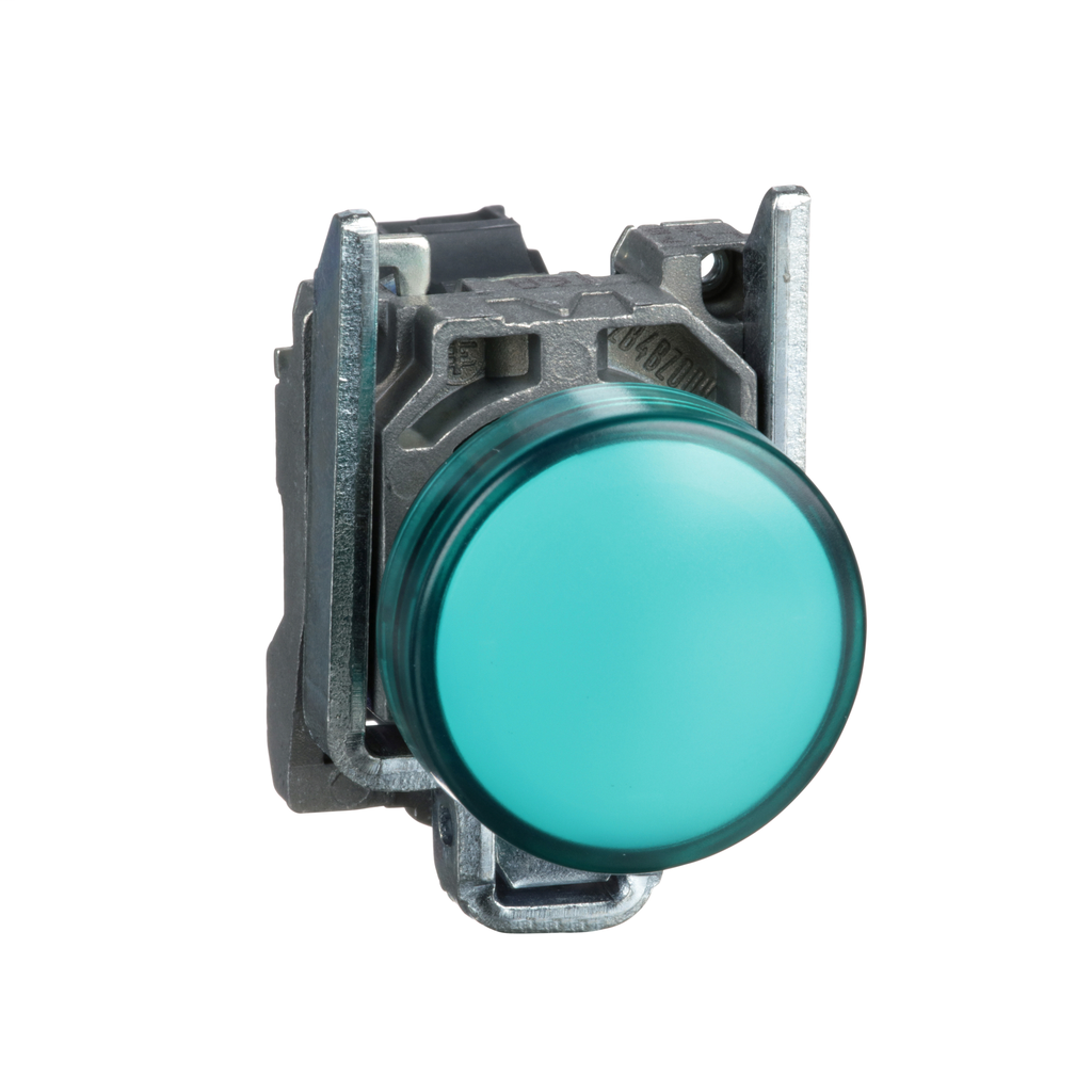 Harmony, 22mm pilot light, green lens, 24 V LED