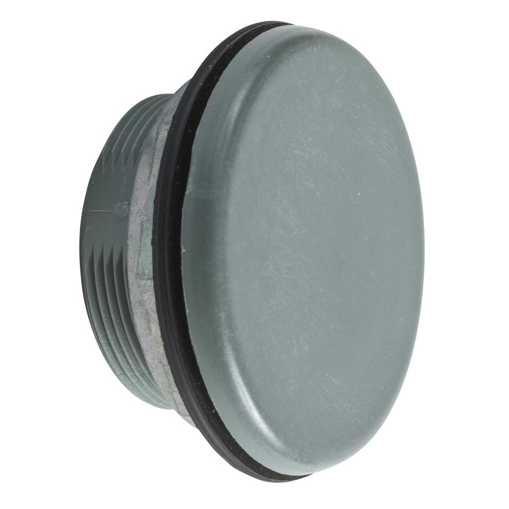 30mm Push Button, Type K, grey closing plate, NEMA 4, 4X and 13