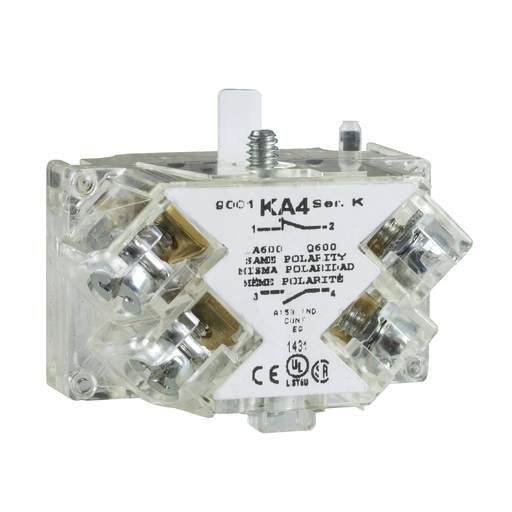 SQD 9001KA3 CONTACT BLOCK NORMALLY CLOSED TOP 500 ITEM