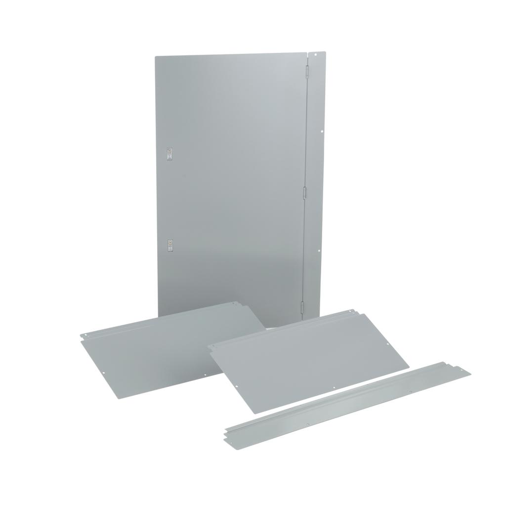 Trim, I-Line PNLBRD, hcm, surface, 4 pcs, w/door, 32x73x8.25 in