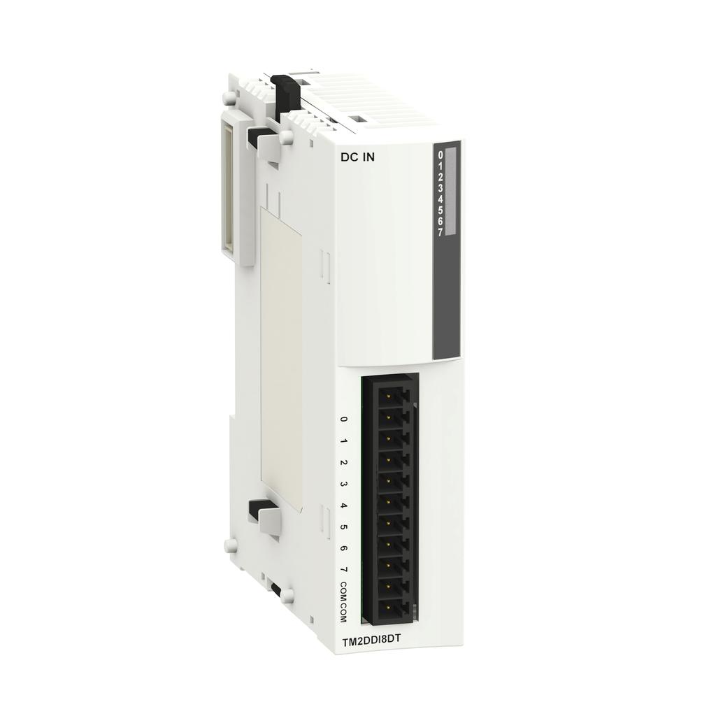 Discrete input module M238 - 8 inputs 120 V AC - 1 remvbl screw terminal block