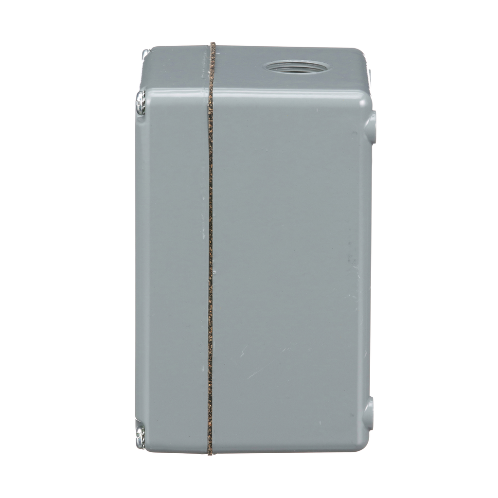 30mm Push Button, Types K or SK, empty push button enclosure, cast aluminium, two 30 mm holes, NEMA 4 and 13
