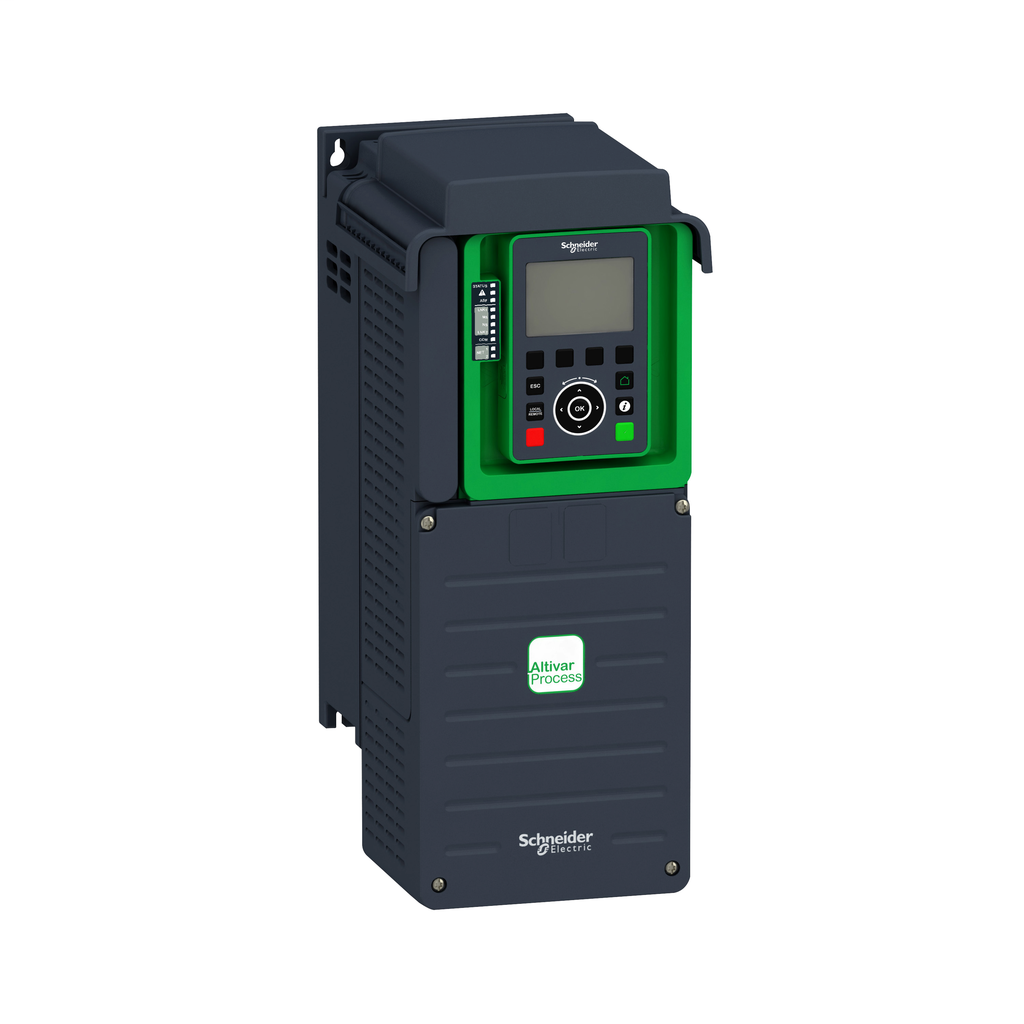 Variable speed drive, ATV930, 7,5kW, 400/480V, with braking unit, IP21