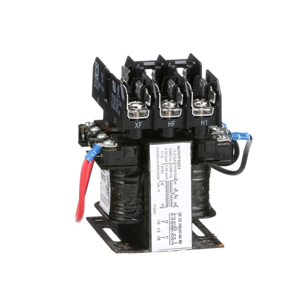 TRANSFORMER CONTROL 50VA 240/480V-120V