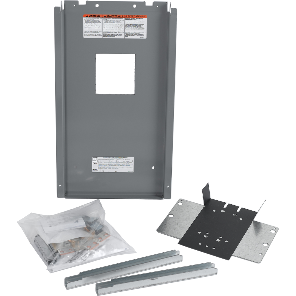 NF Panelboard accy, installation kit, main breaker, 250 A, W/J frame