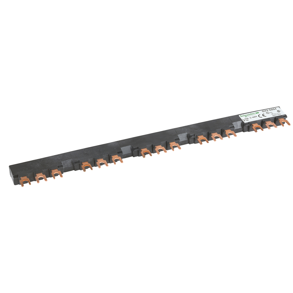 Linergy FT - Comb busbar - 63 A - 5 tap-offs - 54 mm pitch