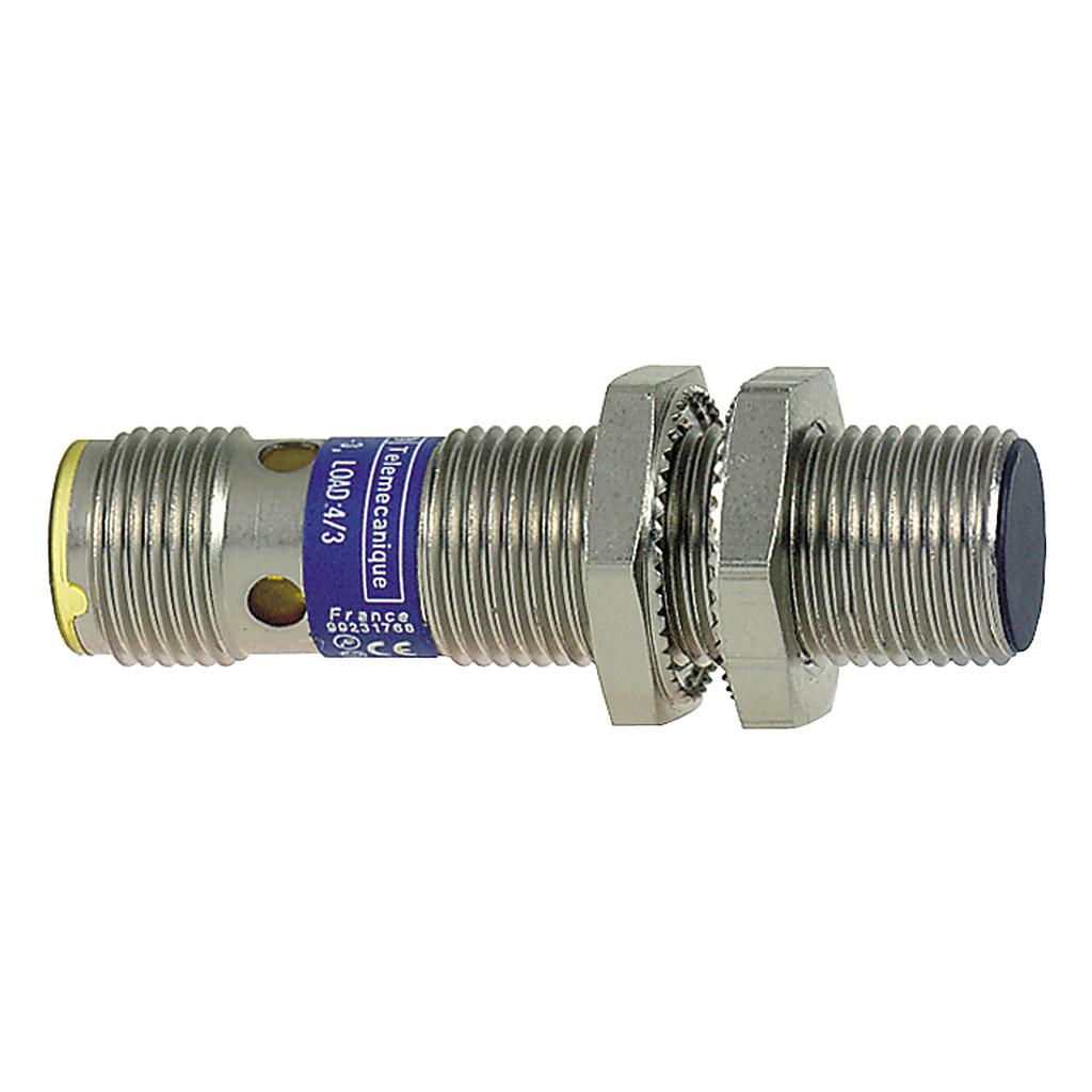 Inductive sensor XS1 M12 - L50mm - brass - Sn4mm - 12..24VDC - M12