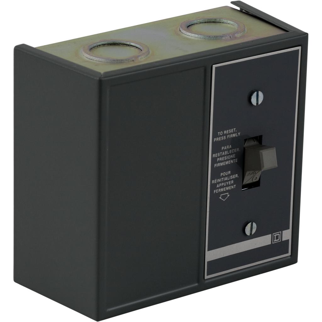 Duplex Manual Starter - NEMA 1 - 2 Starters - 2P -Toggle - No Indicator - 277VAC