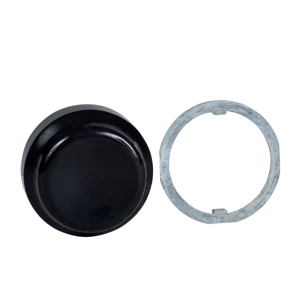 30mm Push Button, Types K or SK, black protective boot, for nonilluminated push buttons