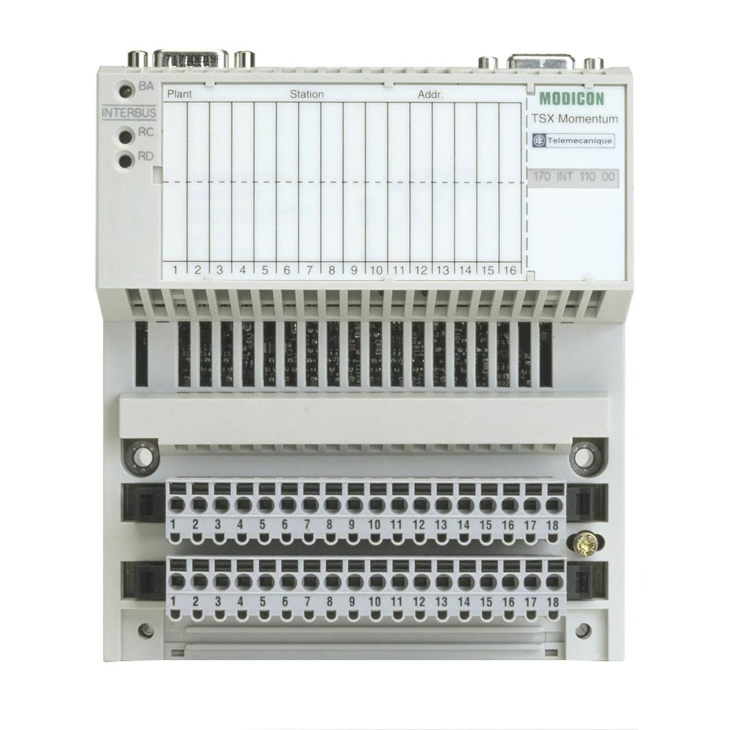 Modicon Momentum - Interbus communication adaptor - twisted pair