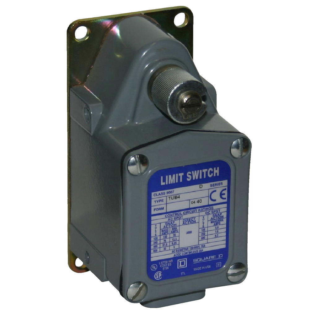 LIMIT SWITCH 600VAC 12AMP T +OPTIONS