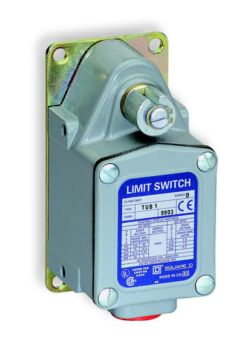 SQD 9007TUB6 LIMIT SWITCH 600VAC