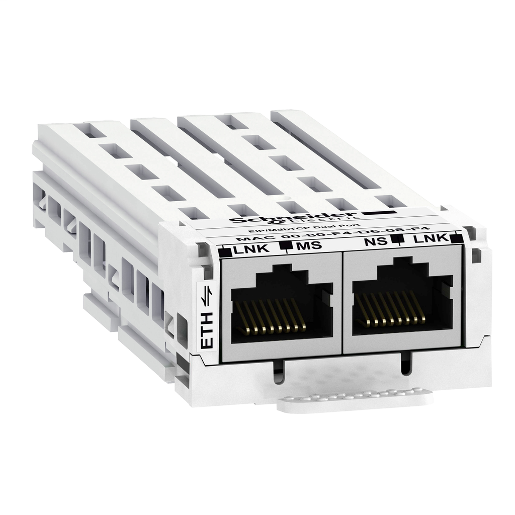 Ethernet/IP, ModbusTCP communication module - 2RJ45