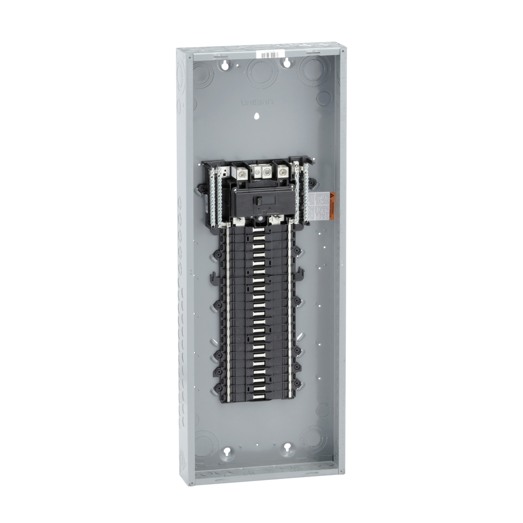 QO LoadCenter, Main Breaker, 200A, 1PH-3W, 42SP, NEMA 1, PON