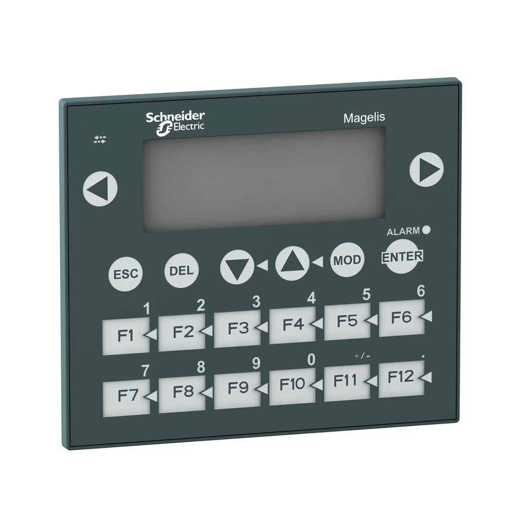 Small panel with keypad - matrix screen - G-O-R - 122 x 32 pixels - 24 V DC