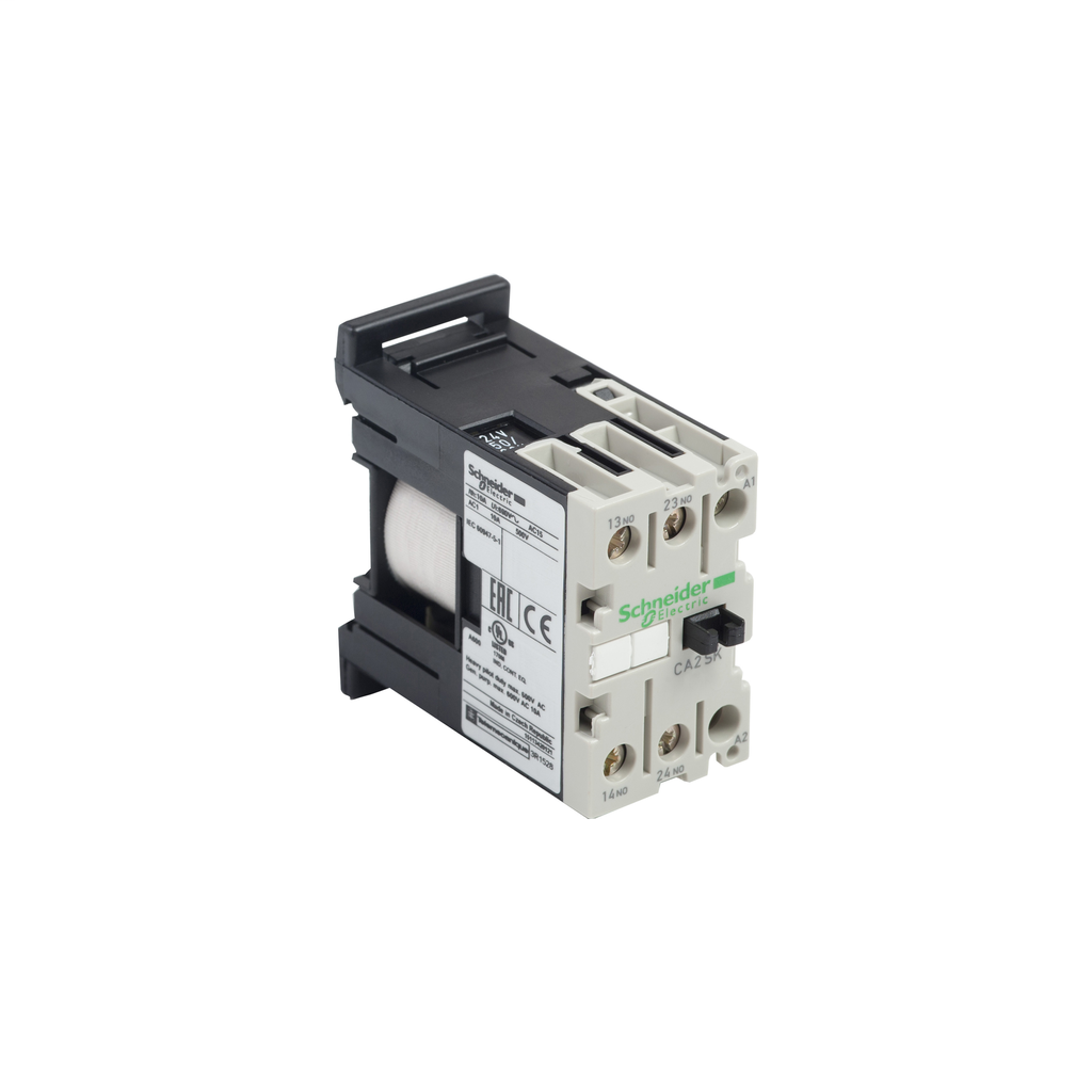 TeSys SK control relay, 1 NO and 1 NC, 600 V, 120 VAC 50/60 Hz coil