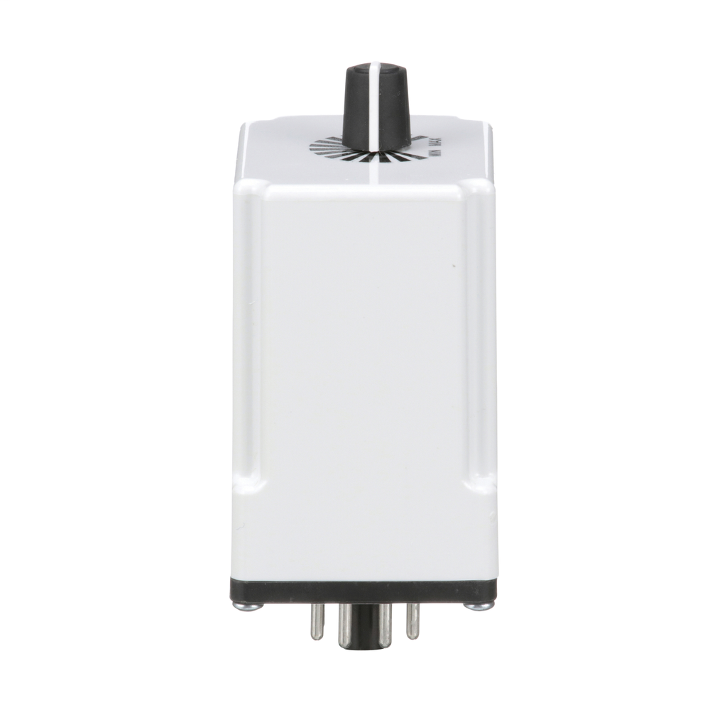 Plug In Timer, on delay, 0.1 to 10 seconds, 10 A at 240 VAC, 120 VAC/110 VDC