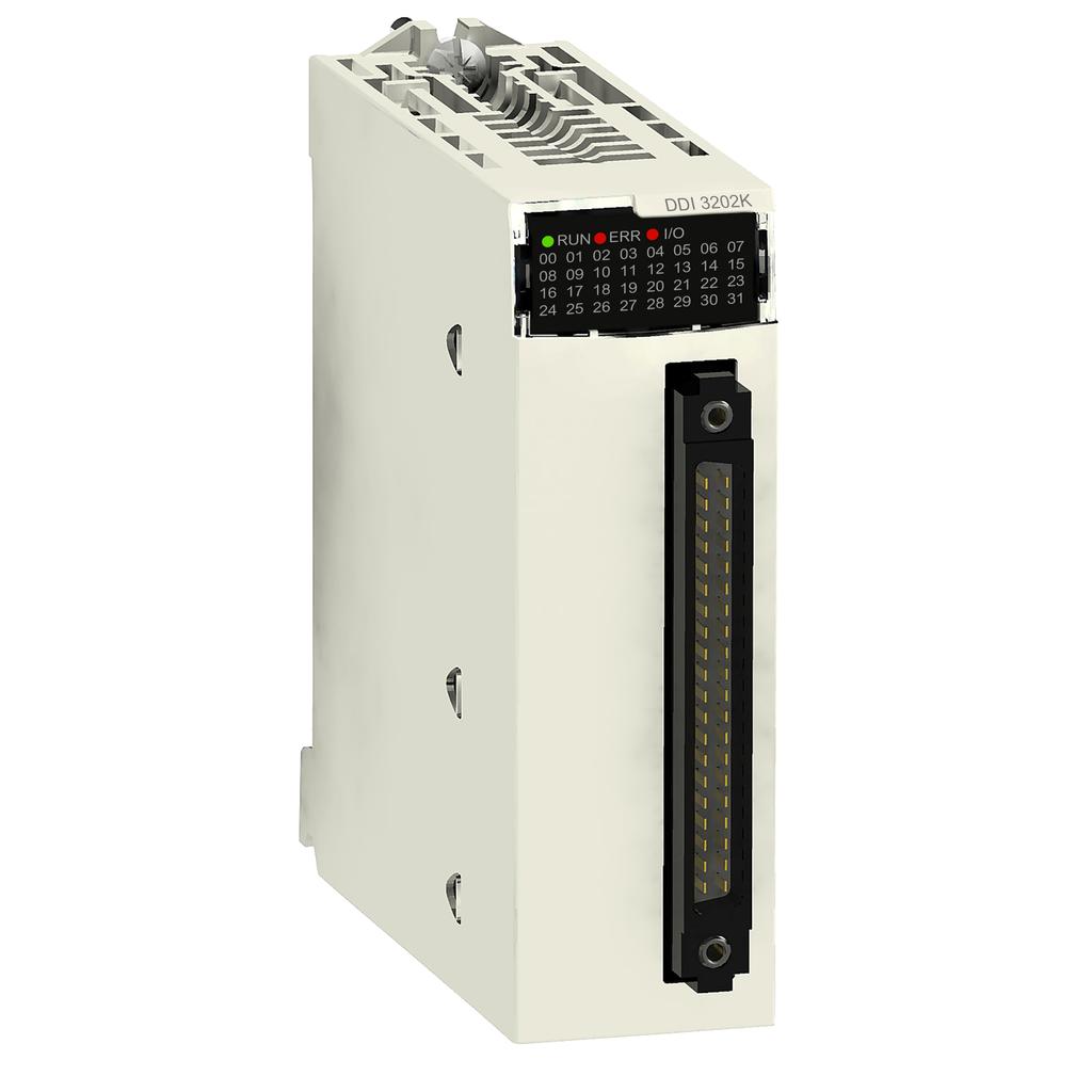 Discrete input module X80 - 32 inputs - 24 V DC positive