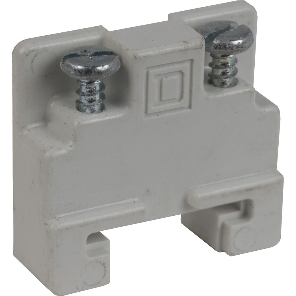 Terminal Block, screw down end clamp